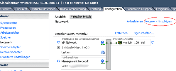 vSwitch-Teil 1